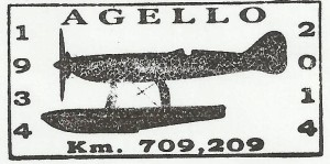 ANNULLO A TARGHETTA 80° RECORD AGELLO