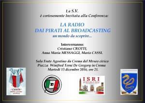 LA RADIO DAI PIRATI AL BROADCASTING