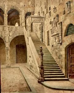 ANTONIO PRESSI (1877-1943) SCENOGRAFO, IL MUGELLO DI FIRENZE.