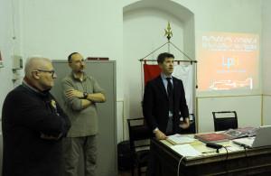 Araldo presentazione libro rosso corsa005