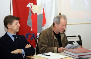 Araldo presentazione libro rosso corsa008