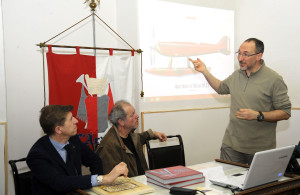 Araldo presentazione libro rosso corsa016
